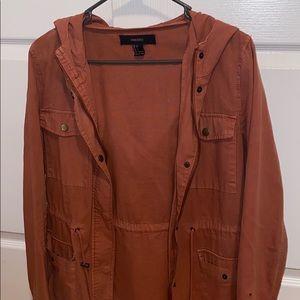 Rust utility jacket